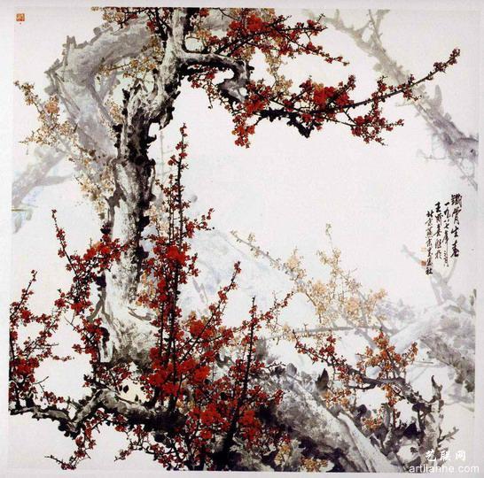 王成喜国画作品赏析2