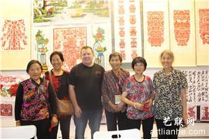 金香莲·北京十六届艺术博览会