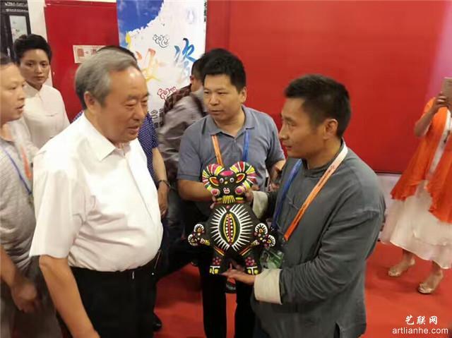 16原文化部副部长,中国档案馆馆长周和平部长.jpg